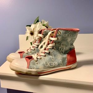🌸MAKE OFFER🌸UGG CANVAS HIGH TOP SNEAKERS🌸